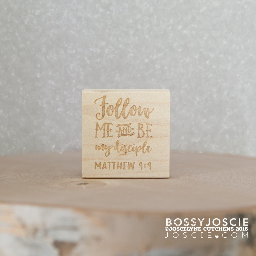 Image of Bible Verse: Matthew 9:9