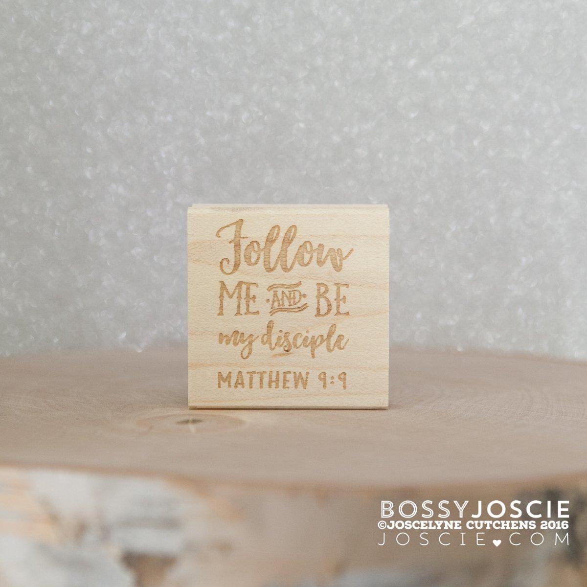 Image of Bible Verse: Matthew 9:9