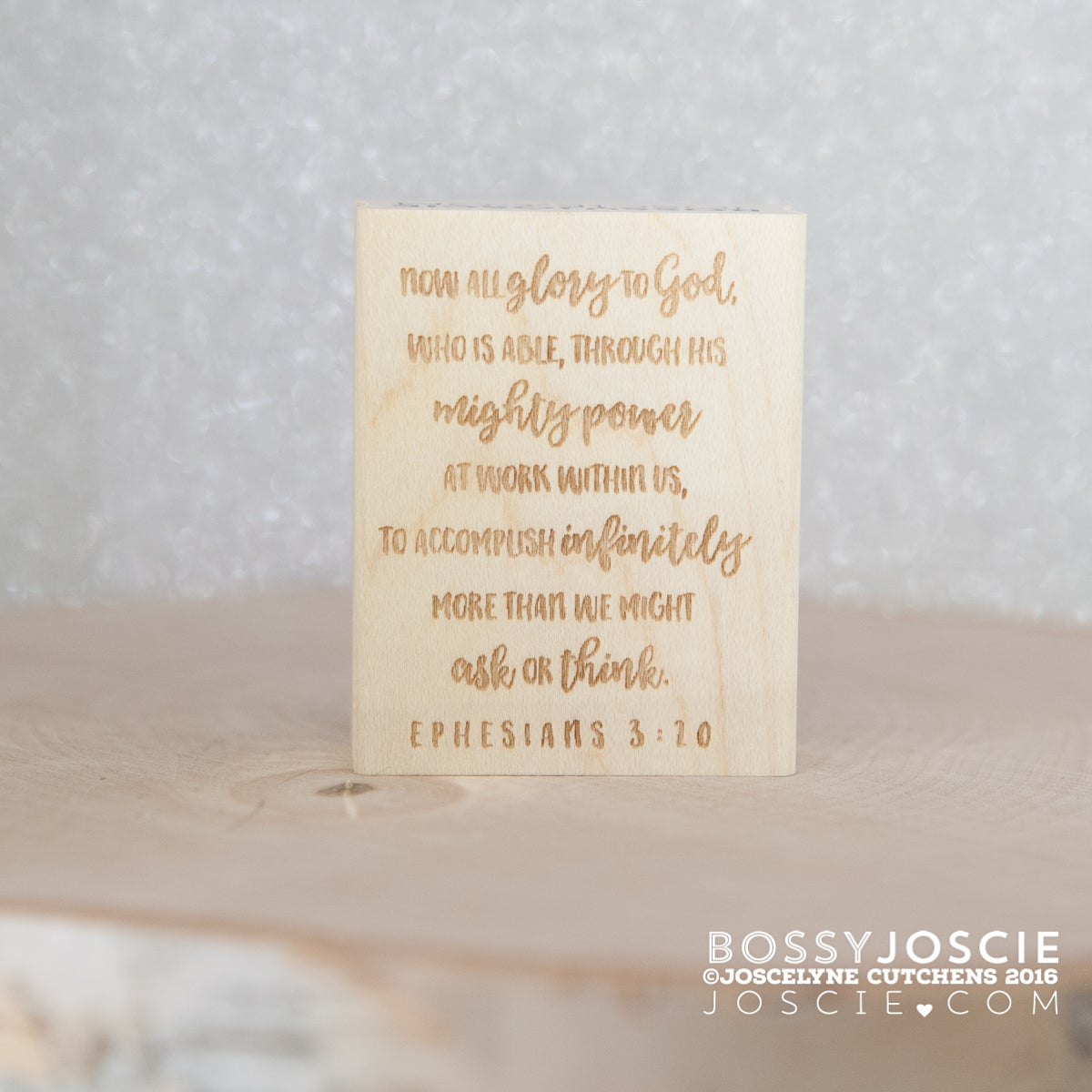 Image of Bible Verse: Epehesians 3:20