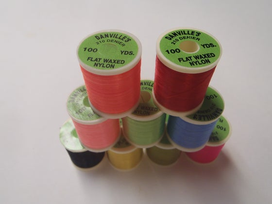 Image of Danville 210 Denier flat waxed thread