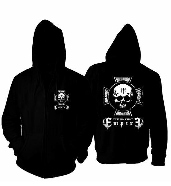 Image of ***NEW*** EMPIRE SKULL ZIP HOODIE