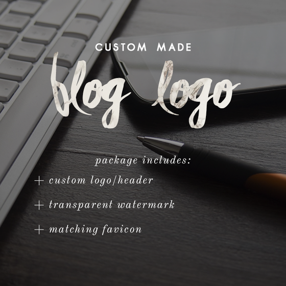 Image of Custom Blog Logo/Header