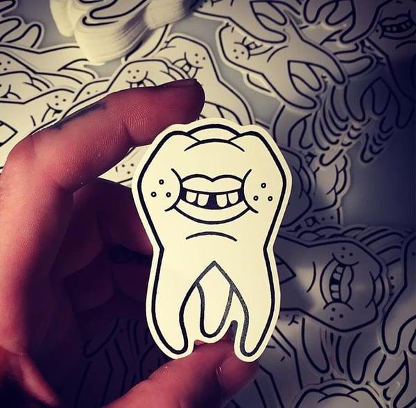 Image of Creeptooth Sticker