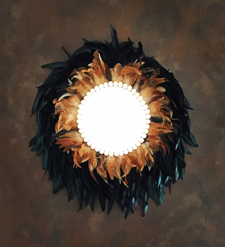 Image of  Juju Mirror - Black Bronze