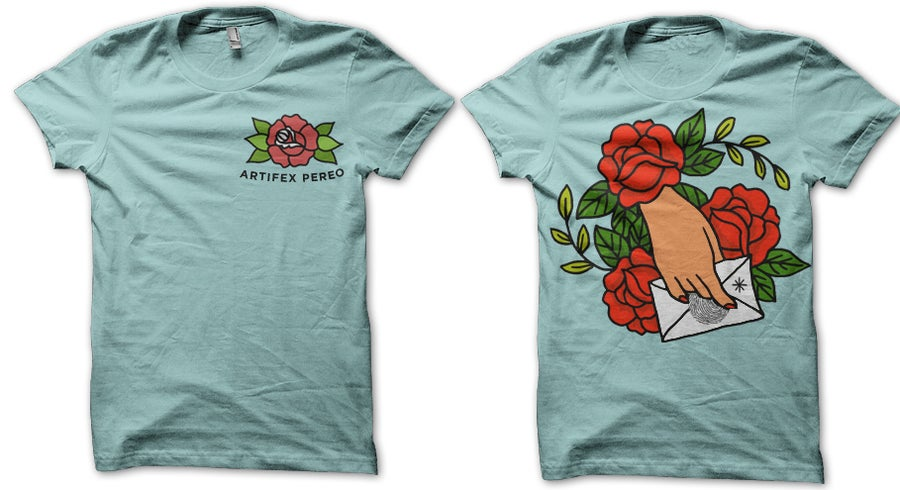 Image of TRADITIONAL ROSE SHIRT