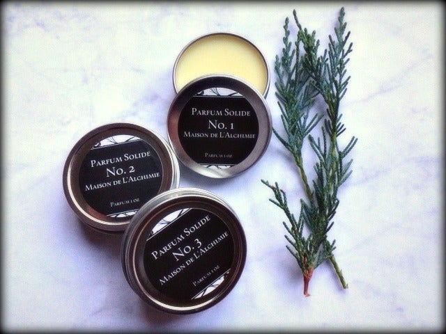 Image of Natural Solid Perfume Collection