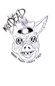 Image of kidDEAD Anarchy Pig tee