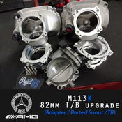 Image of PB5 - 82MM Throttle Body Upgrade (Adapter / Ported Snout / TB)