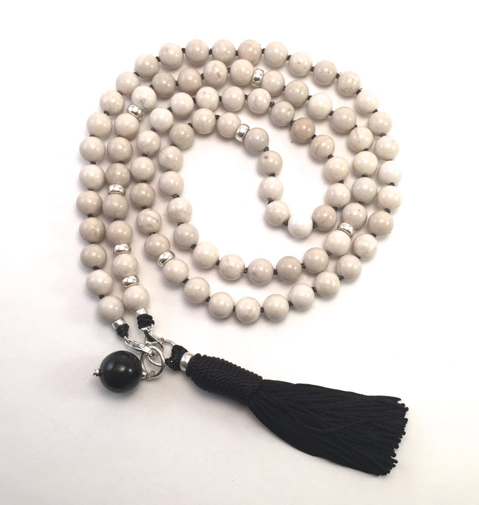 Image of Double Infinity Riverstone Mala 88