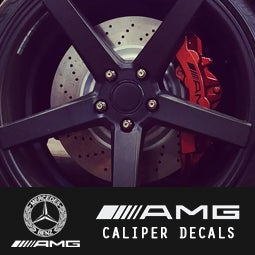 Image of PB5 - Mercedes AMG Caliper Decals