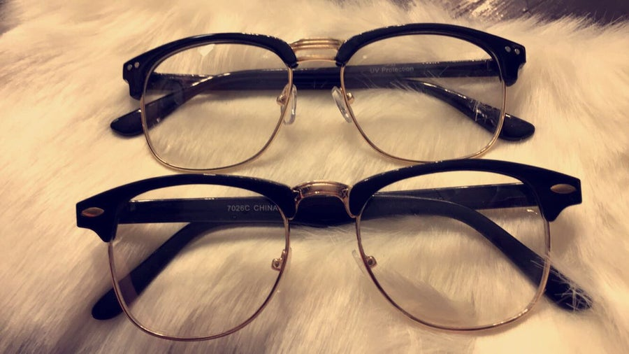 Image of Malcolm Frames  (Double NoseBar) Top Shade Style