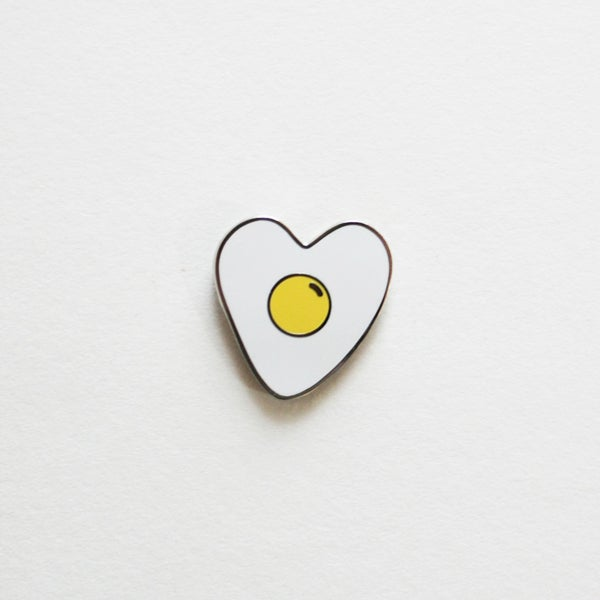 Image of Egg Heart Pin