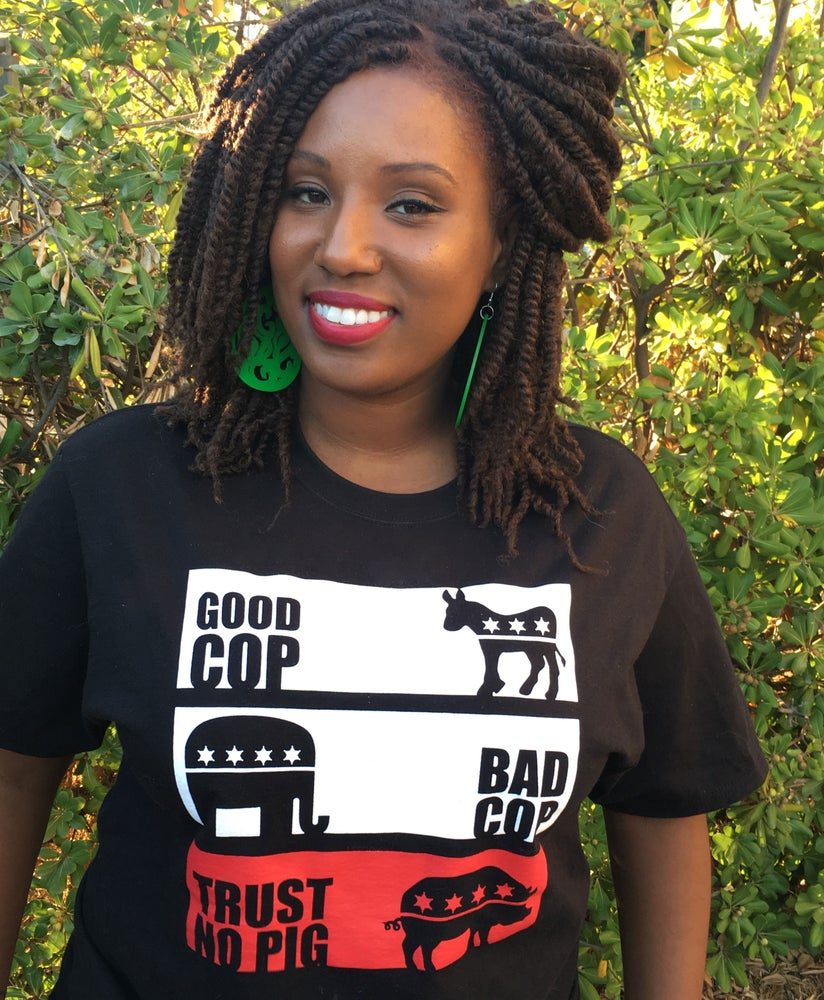 "Image of ""Trust No Pig"" shirt"