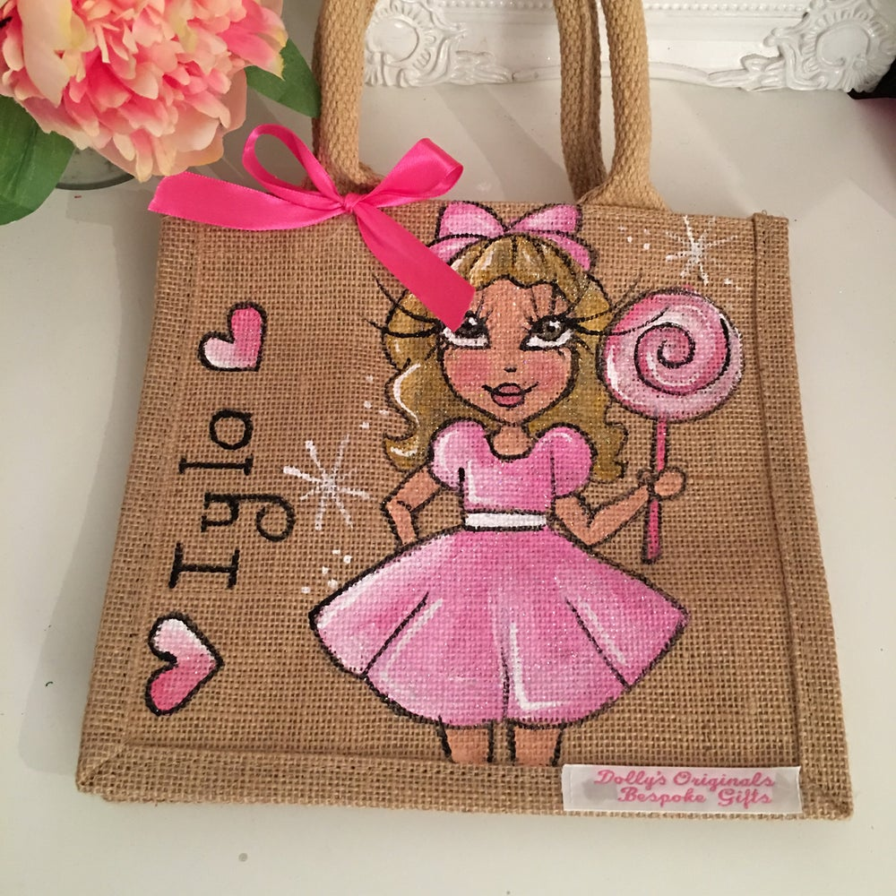 Image of Small Jute Bag