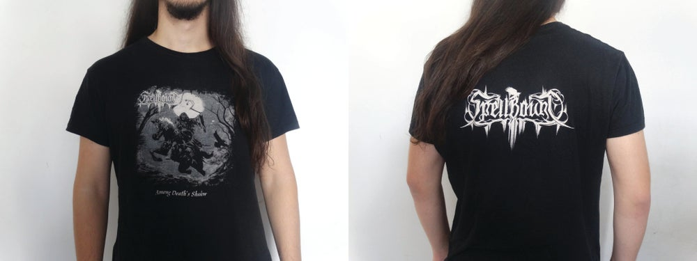 Image of SpellBounD - Among Death's Shadow T-shirt