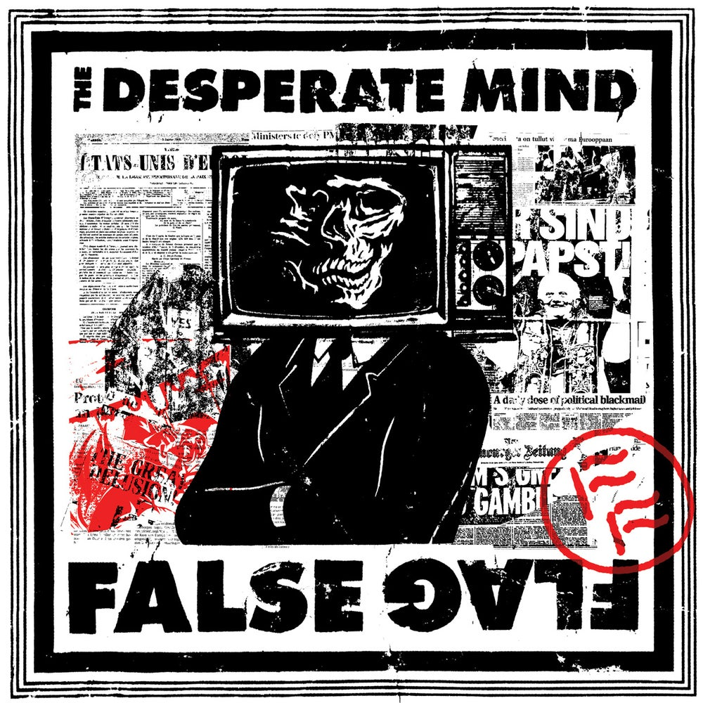 "Image of The Desperate Mind - ""False Flag"" (Vinyl)"