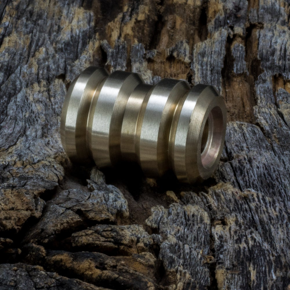 Image of Tank Brass Machined Bead