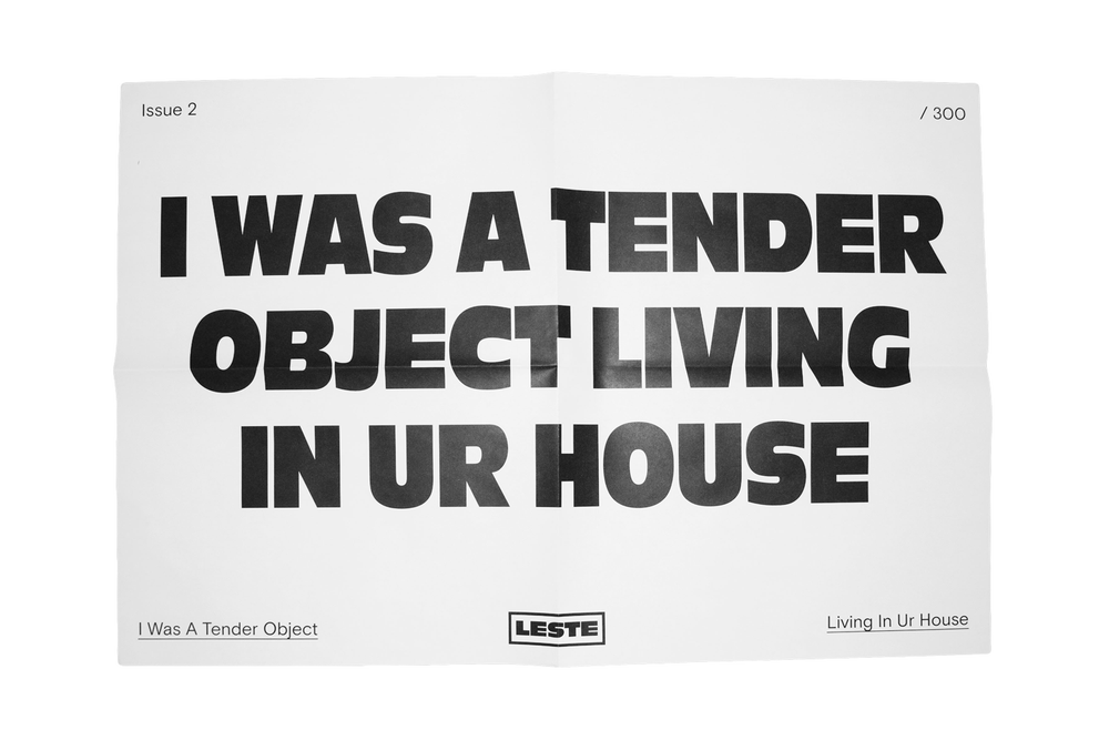 Image of PRE ORDER TENDER OBJECT POSTER - 17x23