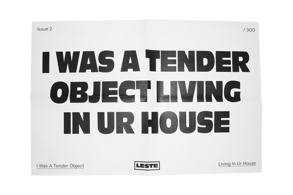 Image of PRE-ORDER TENDER OBJECT POSTER - 17x23