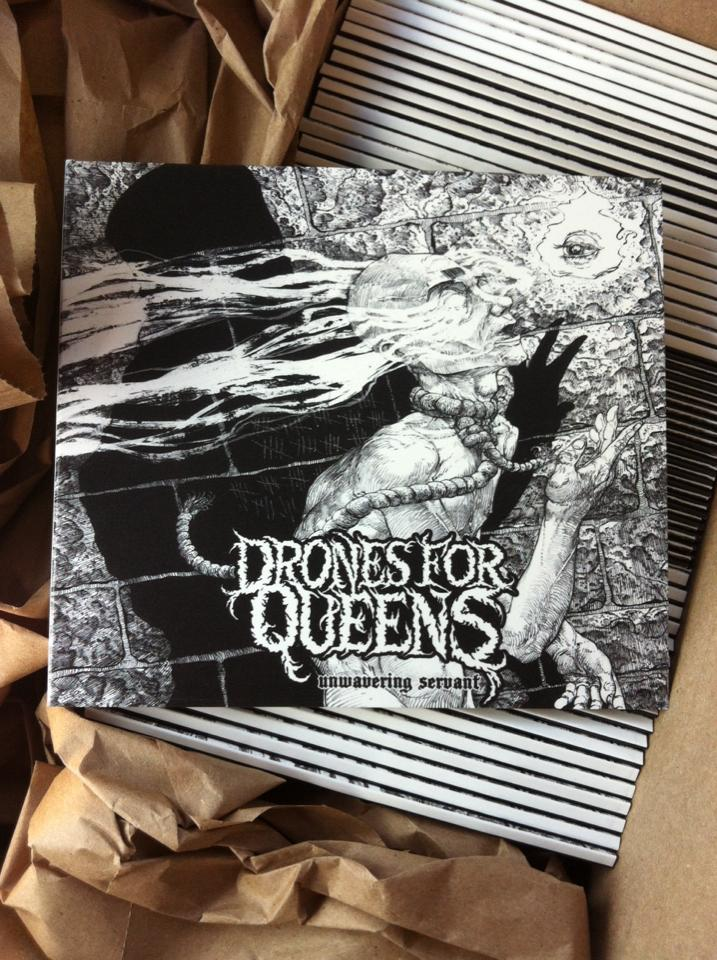 Image of Drones for Queens - Unwavering Servant CD