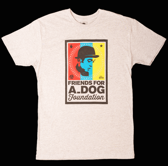 Image of Men's Friends for A_Dog Foundation Tee Shirt