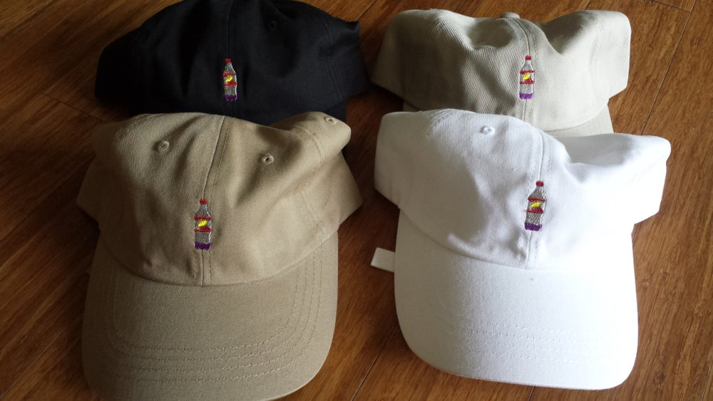 "Image of Siplean ""Tropical Sprite Purple"" Dad Hat"