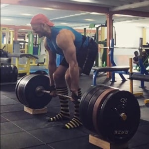Image of Deficit Deadlift Blocks