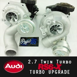 Image of PROJECT:B5 - RS6-X 2.7tt Turbocharger Upgrade