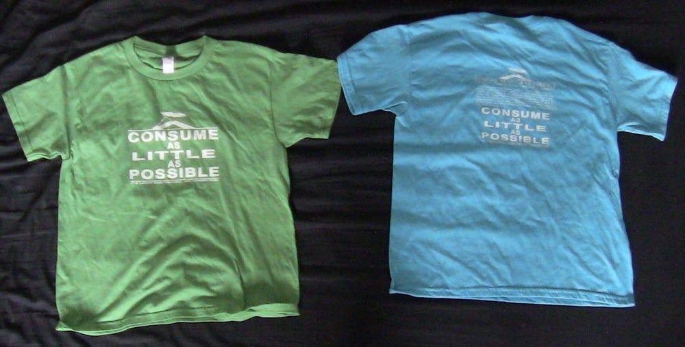 Image of Consume As Little As Possible Shirts