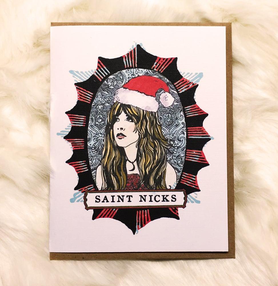 Image of Saint Nicks-Card