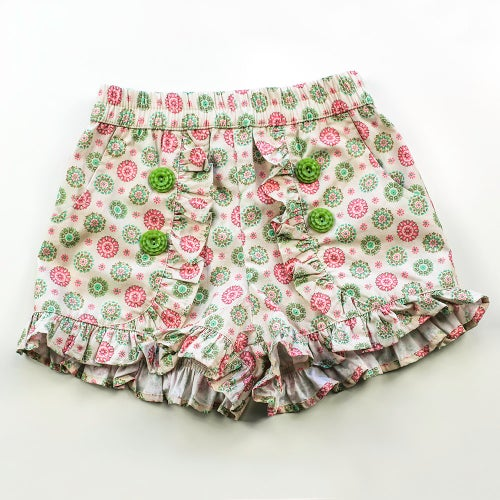 Image of Clementine Vintage Ruffle Shorts - Tilly