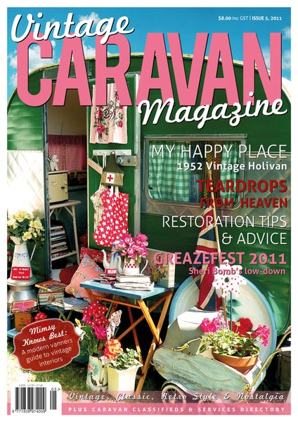 Image of Issue 5 Vintage Caravan Magazine
