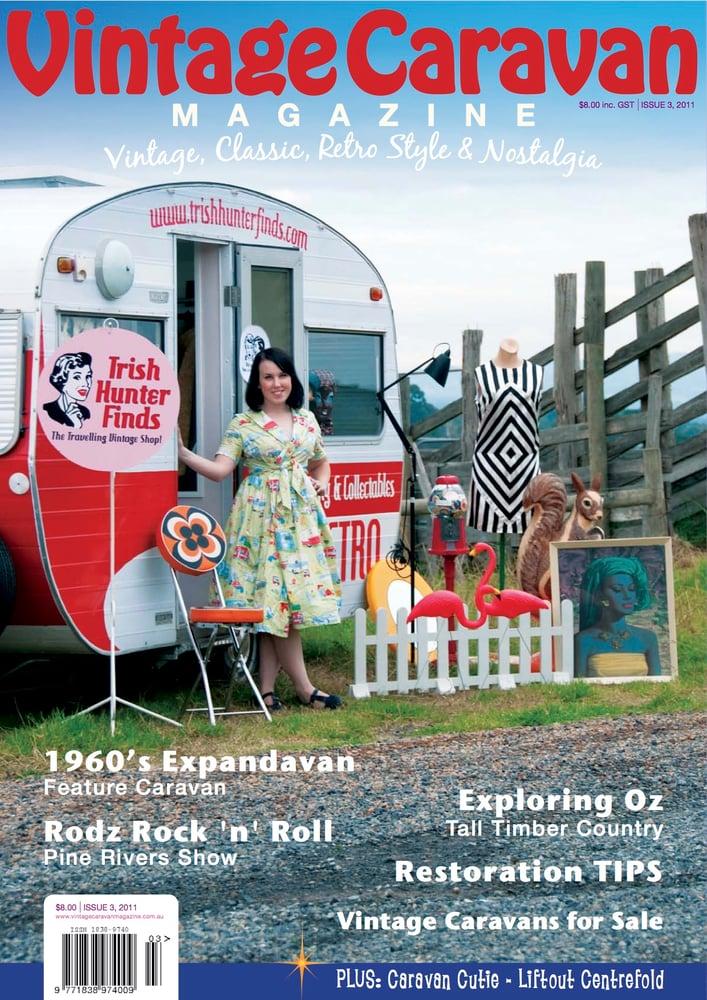 Image of Issue 3 Vintage Caravan magazine