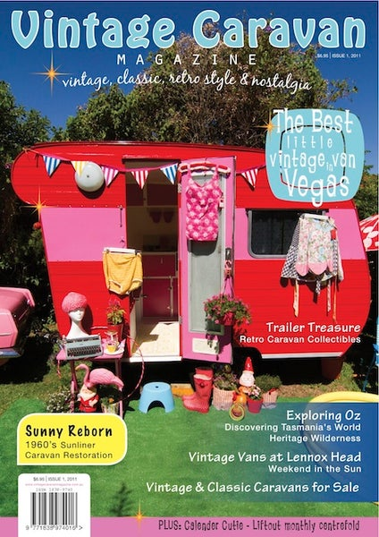 Image of Issue 1 Vintage Caravan Magazine