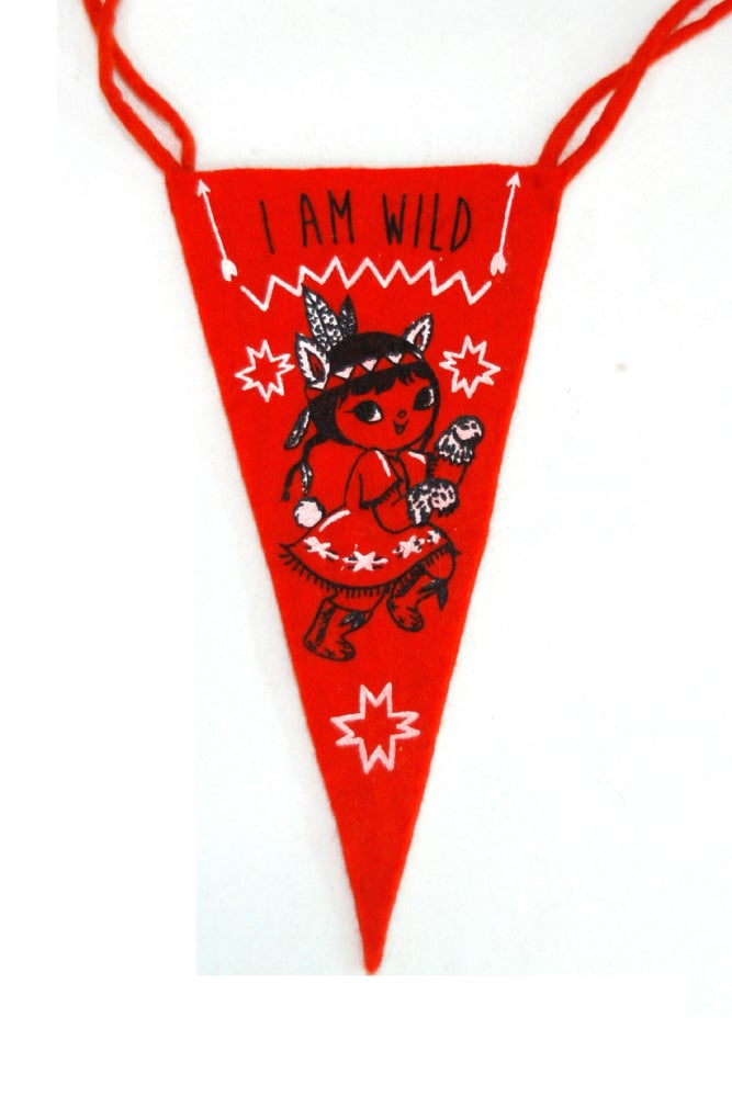 Image of I am Wild CLUB FLAG