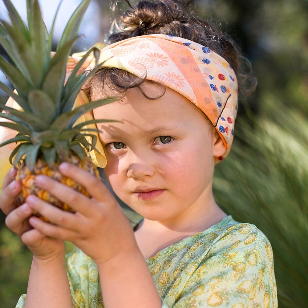Image of Summer Play Kaftan - Pina