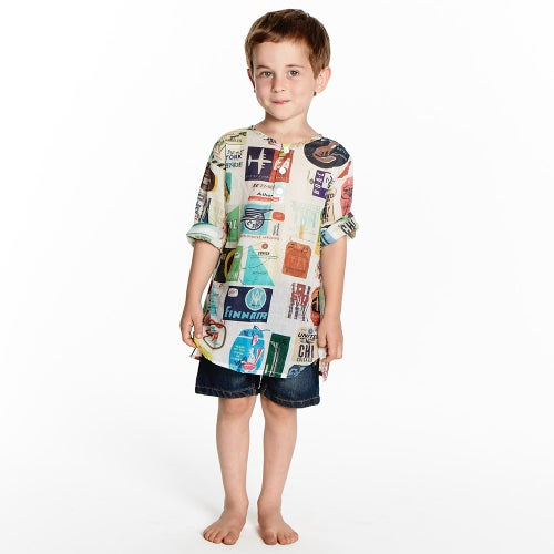 Image of Summer Play Kaftan - Sojourn