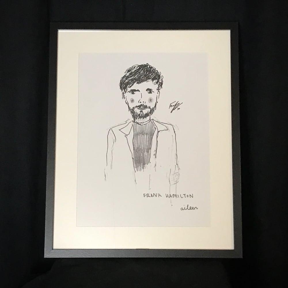 Image of Signed, Framed Album Art Print