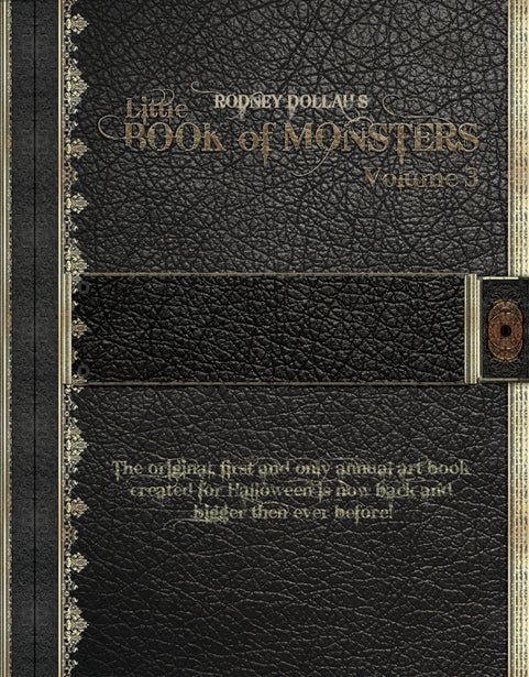 Image of Rodney Dollah's Little BOOK of MONSTERS Vol.3
