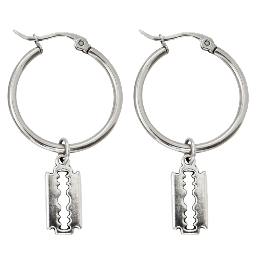 Image of Broken Hoop Earrings
