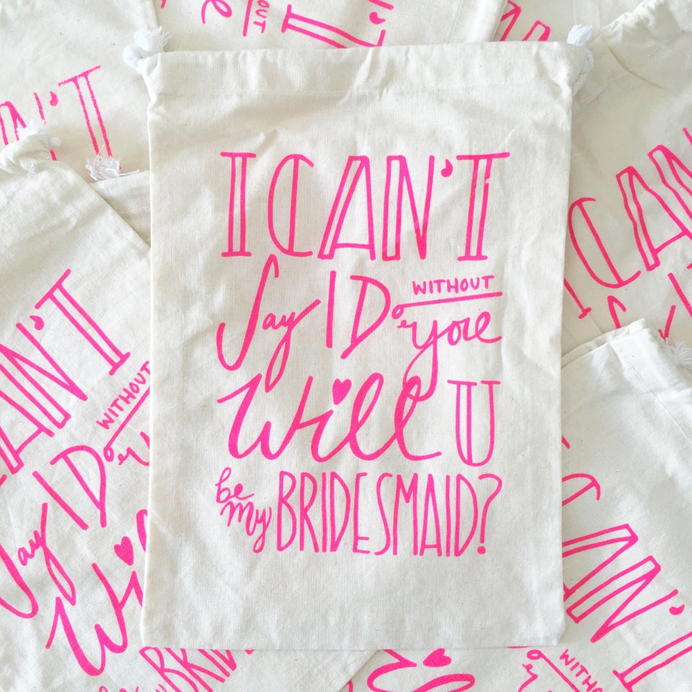 Image of Will You Be My Bridesmaid Gift Bag