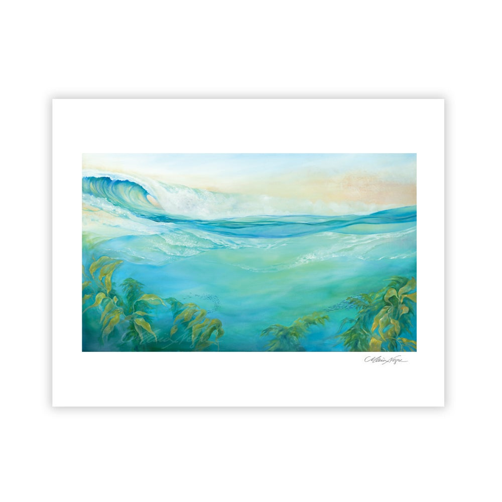 Image of Kelp Forest, Archival Paper Print