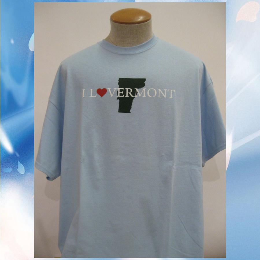 Image of I Love Vermont T-shirt // Lovermont // Vermont Clothing // 802 clothing // I Love Vermont shirt