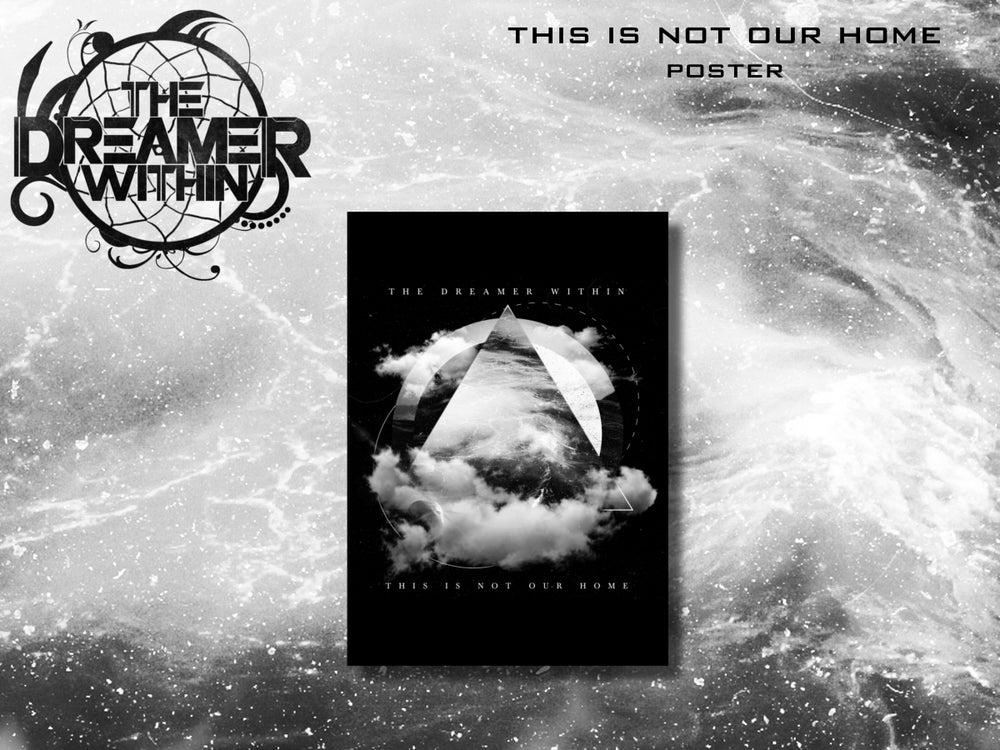 Image of This Is Not Our Home Signed Poster