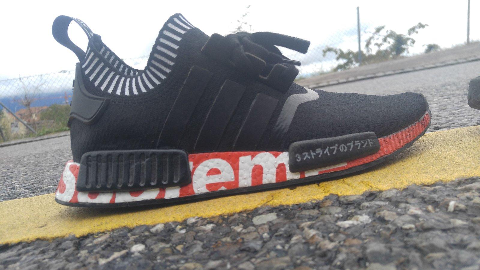 KicksByKarl — Supreme x Adidas NMD