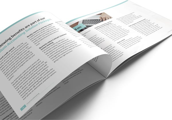 Image of Virtual Financial Management Brochure Print