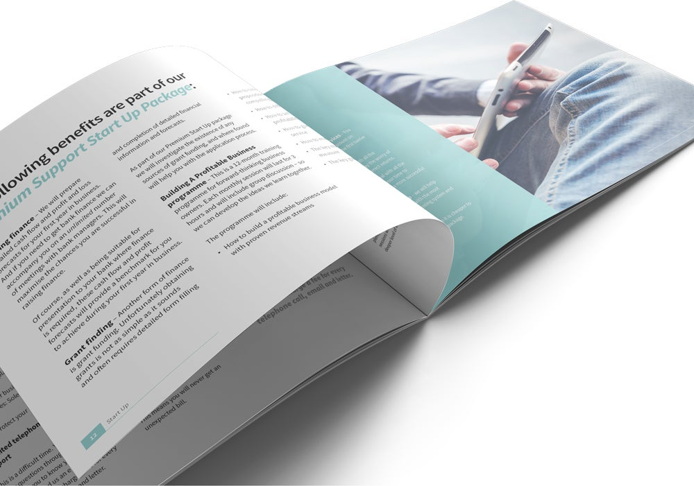Image of Start Up Brochure Print