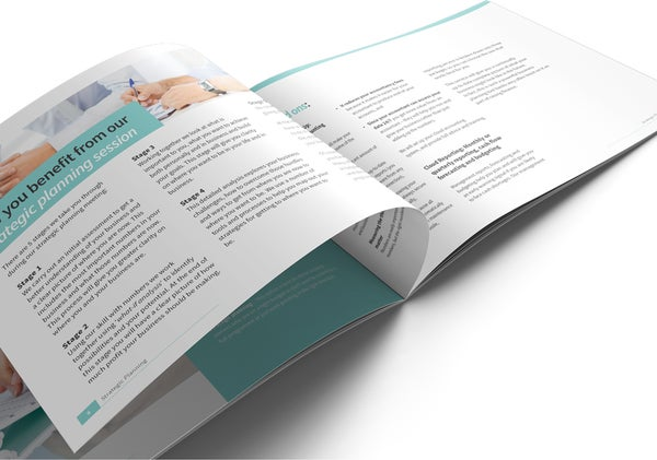 Image of Strategic Planning Brochure Print