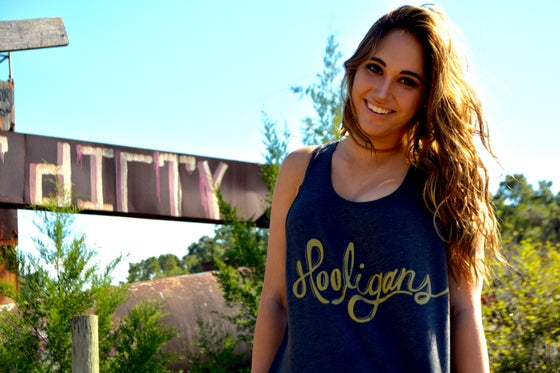 Image of Grey & Gold Hooligans Tank