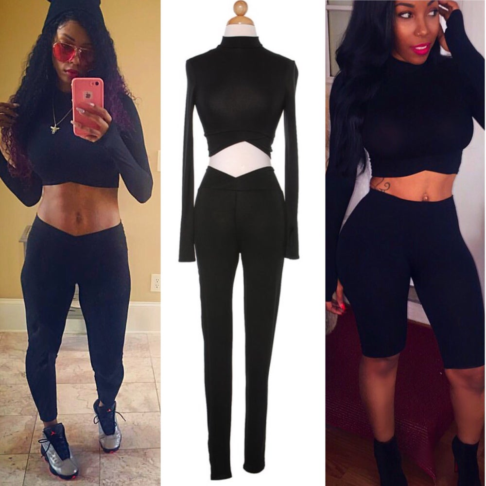 Image of Black Love 2 piece set